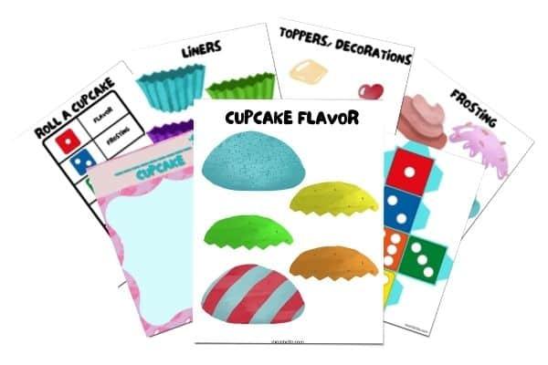 Make a Cupcake Game Printable