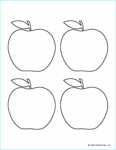Medium Apple Template 2