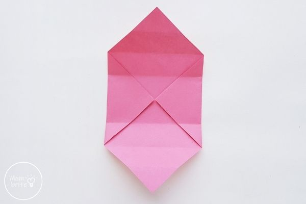 Origami Box with Lid Step 6