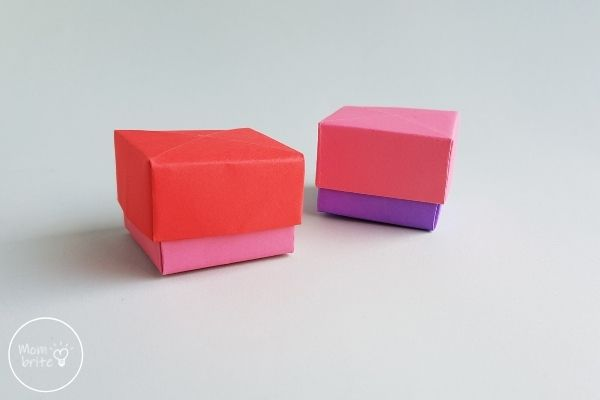Origami Boxes with Lids