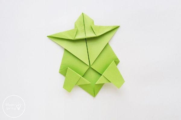 Origami Turtle Step 12