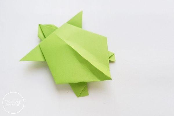 Origami Turtle Step 13
