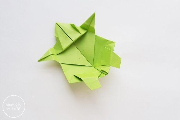 Origami Turtle Step 15