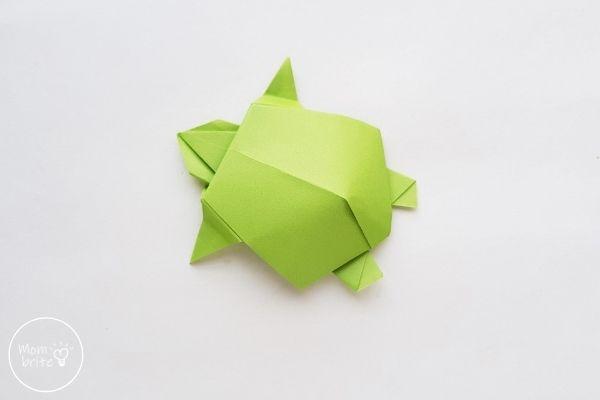 Origami Turtle Step 16