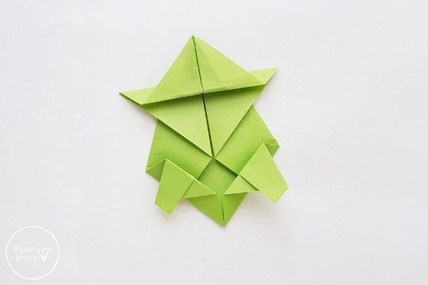Origami Turtle Step 9