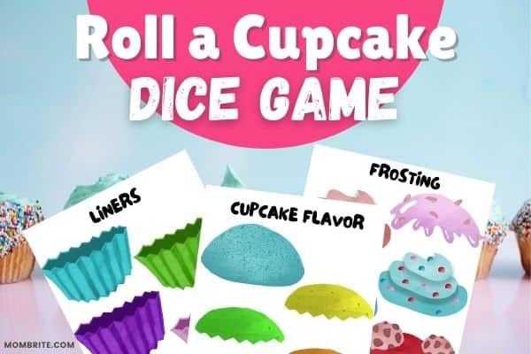 Roll a Cupcake Game Mockup