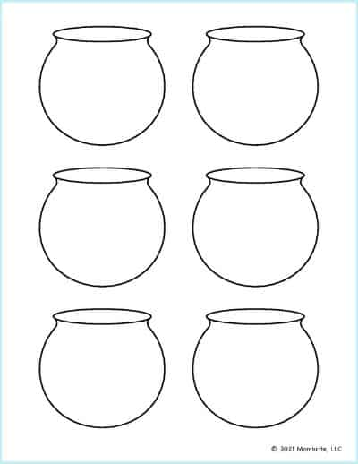 Small Fish Bowl Template 1