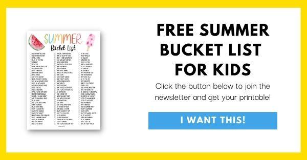 Summer Bucket List Email Opt-In