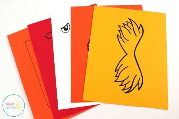 The Lorax Paper Bag Puppet Template