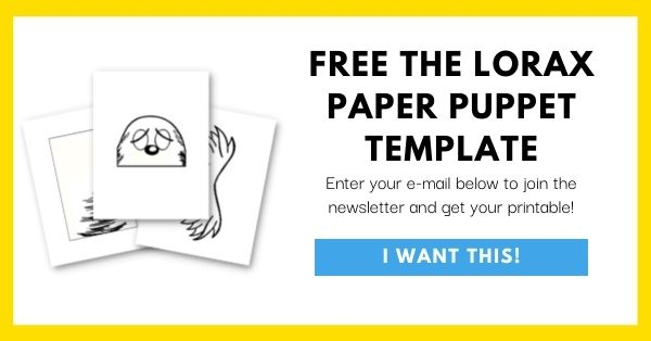 The Lorax Paper Bag Template Email Opt-In