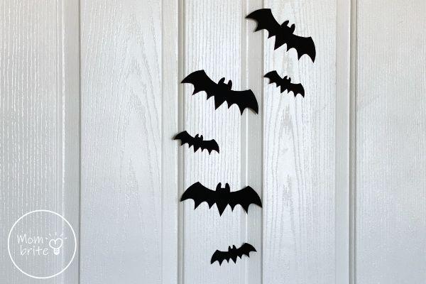 Bat Decors on Door