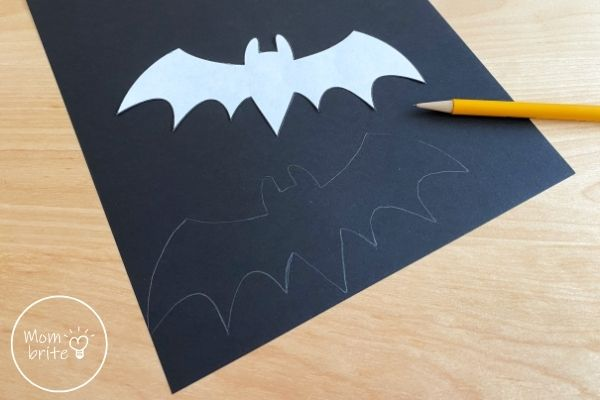 Bat Template Trace on Paper