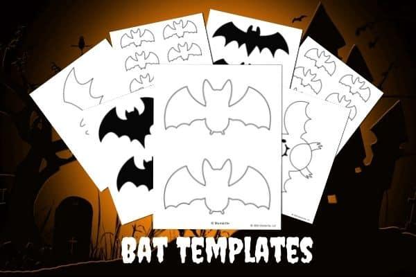 Bat Templates Mockup