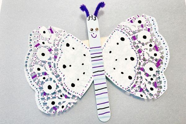 Butterfly Popsicle Stick Craft