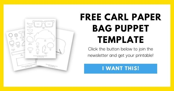 Carl Paper Bag Puppet Template Email List Opt-In