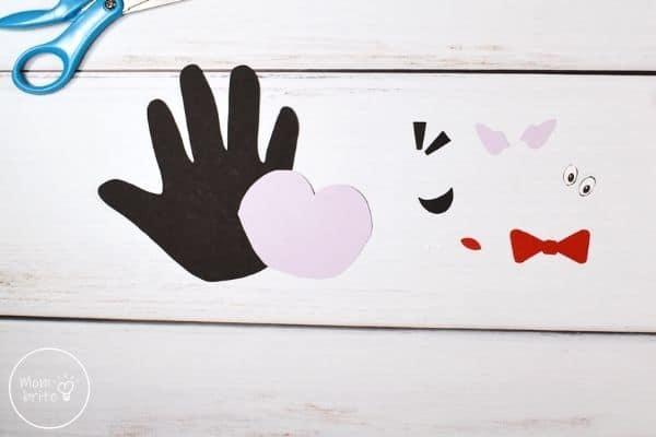 Handprint Vampire Craft Cut Template Patterns