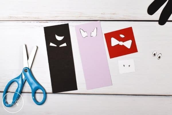 Handprint Vampire Craft Trace Template Patterns