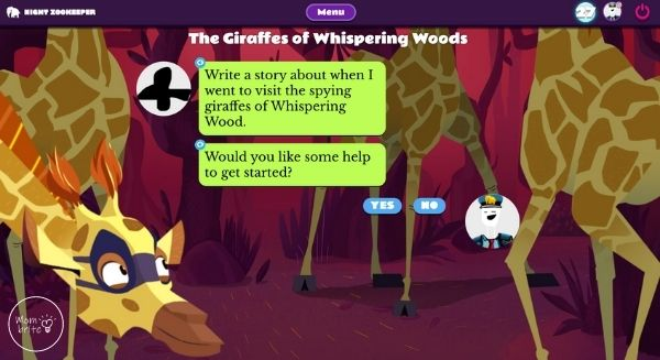 Night Zookeeper Creative Writing Prompt
