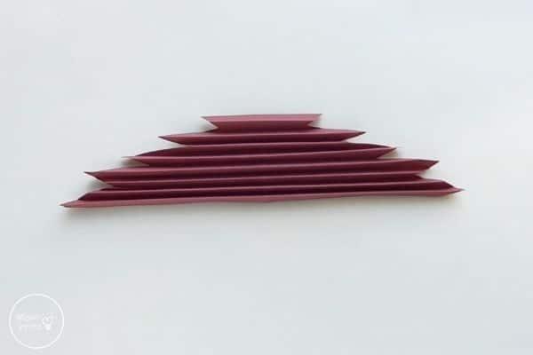 Origami Maple Leaf Accordion Fold