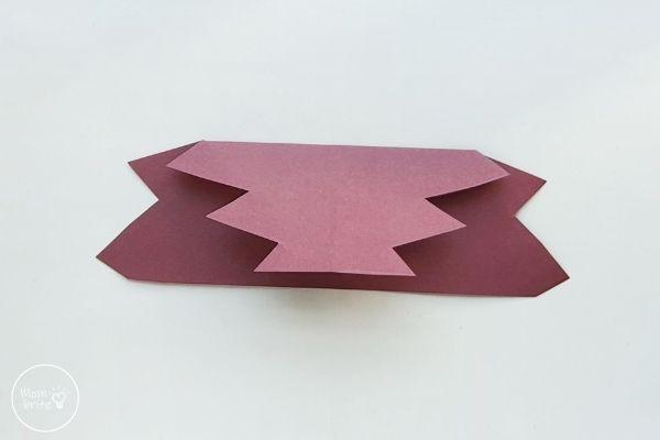 Origami Maple Leaf Step 3