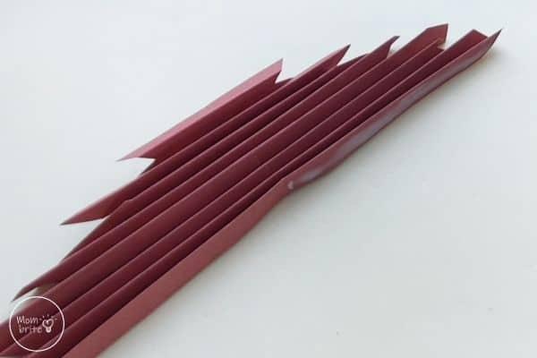 Origami Maple Leaf Step 9