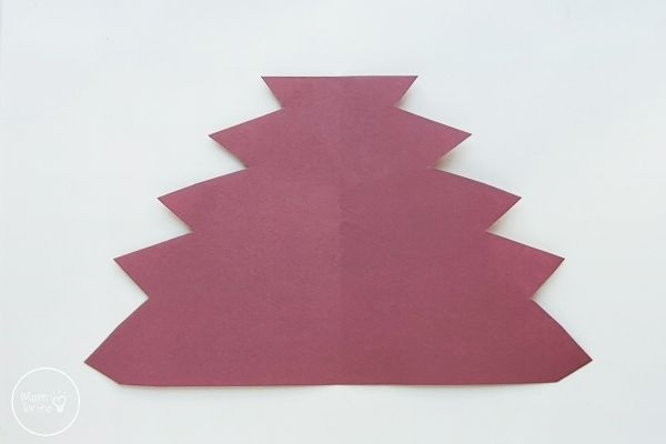 Origami Maple Leaf Template Pattern