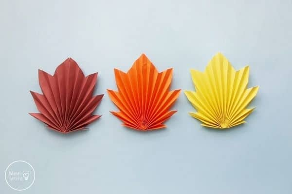 Origami Maple Leaf for the Fall
