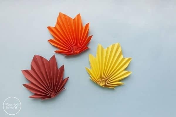 Origami Maple Leaves