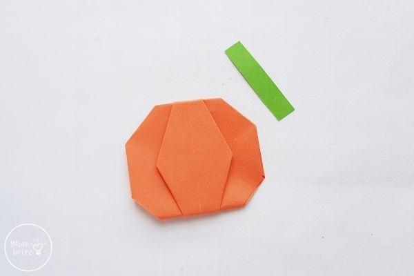 Origami Pumpkin Step 16