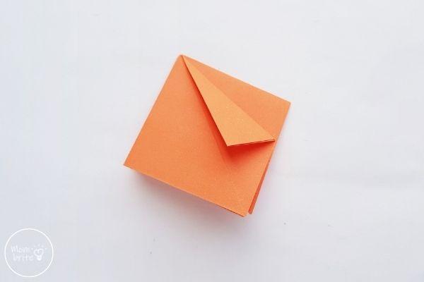Origami Pumpkin Step 4
