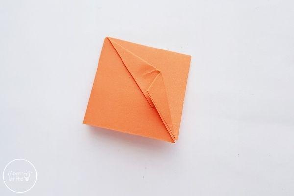 Origami Pumpkin Step 5