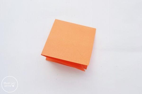 Origami Pumpkin Step 7