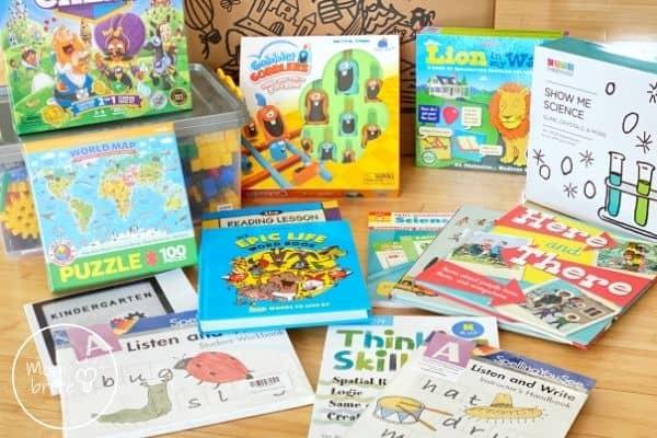 Timberdoodle Kindergarten Curriculum Kit