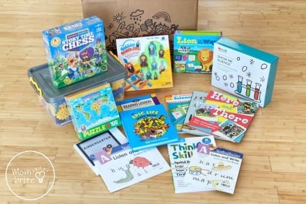 Timberdoodle Kindergarten Custom Curriculum Kit