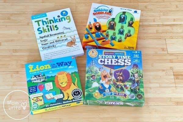 Timberdoodle Kindergarten Thinking Skills
