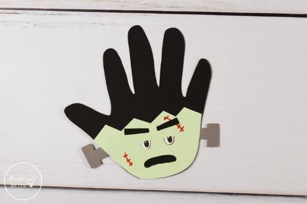 Frankenstein Handprint Craft