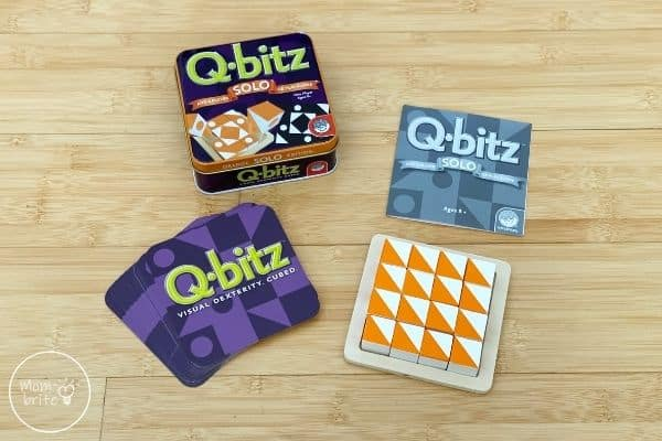 Q-bitz Solo Game Review