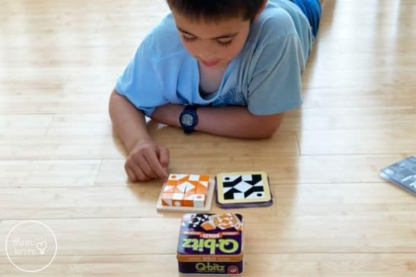 Q-bitz Solo Game Rules