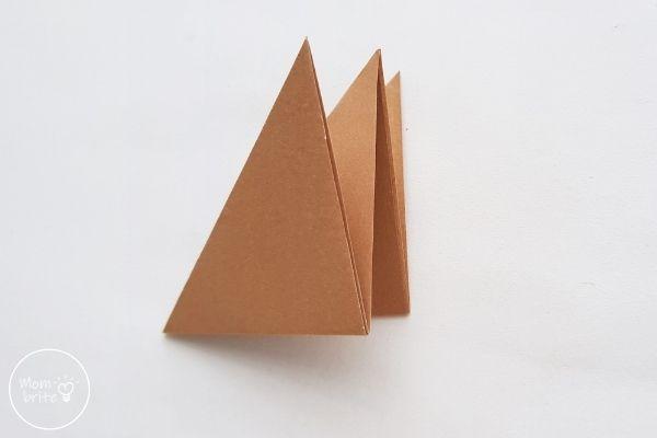 Origami Wolf Fold Diamond in Half