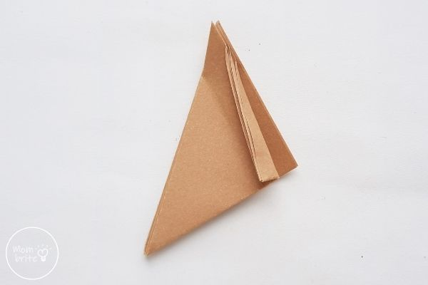 Origami Wolf Fold a Thin Half-Fold