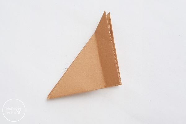 Origami Wolf Unfold All of 1cm Fold
