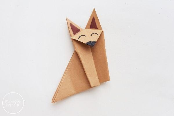 Origami Wolf or Origami Fox